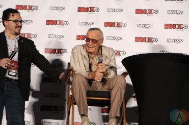 Stan Lee (Marvel Comics) at Fan Expo 2016 in Toronto. (Photo: Stephan Ordonez/Aesthetic Magazine)
