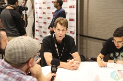 Kevin Conroy (Batman) at Fan Expo 2016 in Toronto. (Photo: Stephan Ordonez/Aesthetic Magazine)
