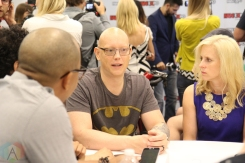 Meredith Finch and David Finch (Marvel Comics, DC Comics) at Fan Expo 2016 in Toronto. (Photo: Stephan Ordonez/Aesthetic Magazine)