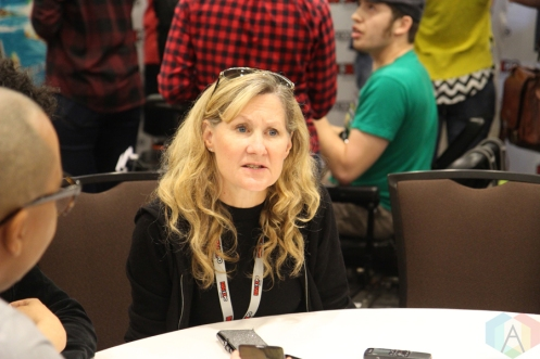 Veronica Taylor (Anime) at Fan Expo 2016 in Toronto. (Photo: Stephan Ordonez/Aesthetic Magazine)