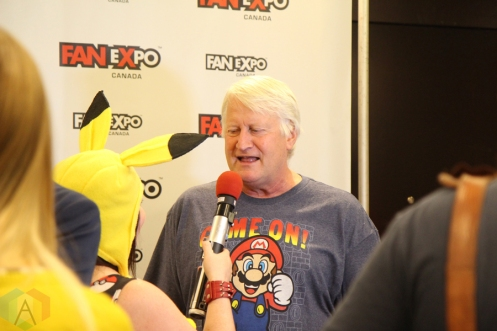 Charles Martinet (Super Mario Bros) at Fan Expo 2016 in Toronto. (Photo: Stephan Ordonez/Aesthetic Magazine)