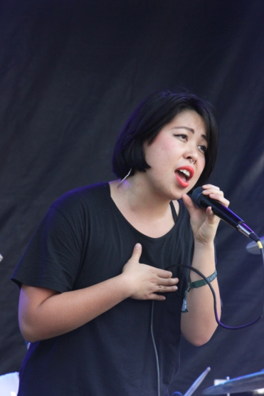 The Belle Game performing at the Toronto Urban Roots Festival in Toronto on September 18, 2016. (Photo: Curtis Sindrey/Aesthetic Magazine)