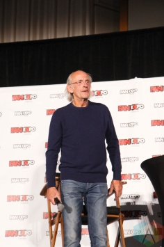 Christopher Lloyd (Back To The Future) at Fan Expo 2016 in Toronto. (Photo: Stephan Ordonez/Aesthetic Magazine)