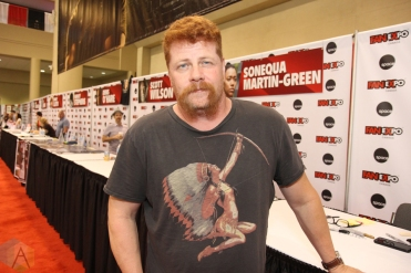 Michael Cudlitz (The Walking Dead) at Fan Expo 2016 in Toronto. (Photo: Stephan Ordonez/Aesthetic Magazine)
