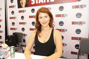 Jewel Staite (Firefly) at Fan Expo 2016 in Toronto. (Photo: Stephan Ordonez/Aesthetic Magazine)