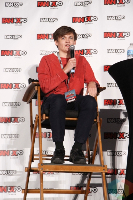 Jack Gleeson (Game Of Thrones) at Fan Expo 2016 in Toronto. (Photo: Stephan Ordonez/Aesthetic Magazine)