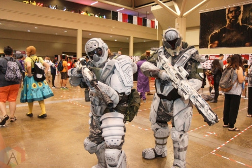 Cosplay at Fan Expo 2016 in Toronto. (Photo: Stephan Ordonez/Aesthetic Magazine)