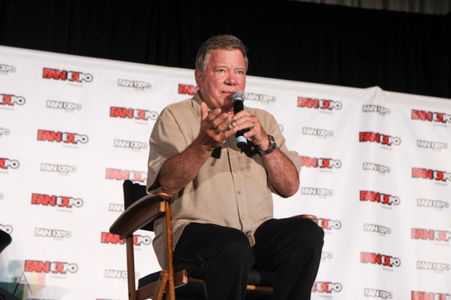 William Shatner (Star Trek) at Fan Expo 2016 in Toronto. (Photo: Stephan Ordonez/Aesthetic Magazine)