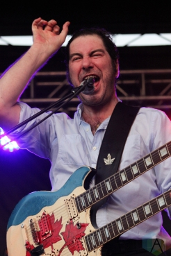 Rheostatics performing at the Toronto Urban Roots Festival in Toronto on September 18, 2016. (Photo: Curtis Sindrey/Aesthetic Magazine)