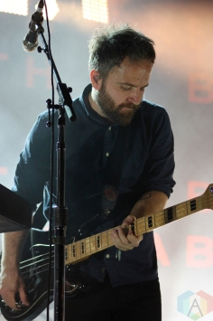 Death Cab For Cutie performing at the Toronto Urban Roots Festival in Toronto on September 18, 2016. (Photo: Curtis Sindrey/Aesthetic Magazine)