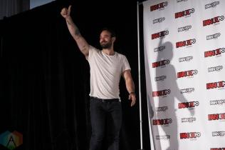 Charlie Cox and Elden Henson (Daredevil) at Fan Expo 2016 in Toronto. (Photo: Stephan Ordonez/Aesthetic Magazine)