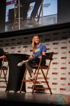 Katie Cassidy (Arrow) at Fan Expo 2016 in Toronto. (Photo: Stephan Ordonez/Aesthetic Magazine)