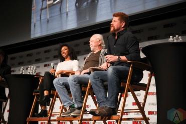 Sonequa Martin-Green, Michael Cudlitz, Scott Wilson (The Walking Dead) at Fan Expo 2016 in Toronto. (Photo: Stephan Ordonez/Aesthetic Magazine)
