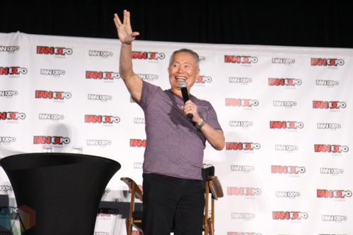 George Takei (Star Trek) at Fan Expo 2016 in Toronto. (Photo: Stephan Ordonez/Aesthetic Magazine)
