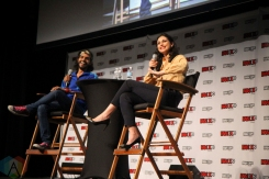 Morena Baccarin (Firefly) at Fan Expo 2016 in Toronto. (Photo: Stephan Ordonez/Aesthetic Magazine)