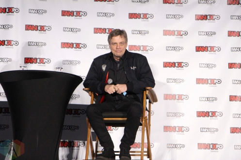 Mark Hamill (Star Wars) at Fan Expo 2016 in Toronto. (Photo: Stephan Ordonez/Aesthetic Magazine)