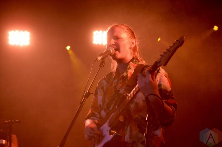 Charlotte Day Wilson performing at the Velvet Underground in Toronto on September 12, 2016. (Photo: Justin Roth/Aesthetic Magazine)