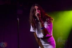 Dragonette performing at the Velvet Underground in Toronto on September 12, 2016. (Photo: Justin Roth/Aesthetic Magazine)