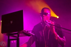 Kardinal Offishall performing at the Velvet Underground in Toronto on September 12, 2016. (Photo: Justin Roth/Aesthetic Magazine)