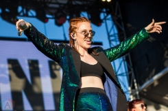 Jess Glynne performs at the Life Is Beautiful Music Festival in Las Vegas on September 24, 2016. (Photo: Meghan Lee/Aesthetic Magazine)