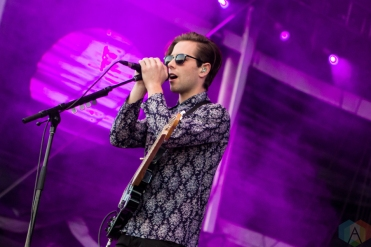 The Naked And Famous perform at the Life Is Beautiful Music Festival in Las Vegas on September 24, 2016. (Photo: Meghan Lee/Aesthetic Magazine)