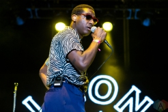 Leon Bridges performs at the Life Is Beautiful Music Festival in Las Vegas on September 24, 2016. (Photo: Meghan Lee/Aesthetic Magazine)