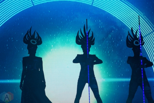 Empire Of The Sun performs at the Life Is Beautiful Music Festival in Las Vegas on September 24, 2016. (Photo: Meghan Lee/Aesthetic Magazine)