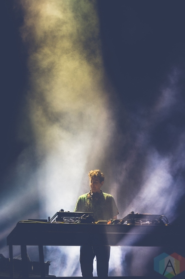 Jamie XX performing at the Made In America Festival at the Benjamin Franklin Parkway in Philadelphia, Pennsylvania on September 3, 2016. (Photo: Saidy Lopez/Aesthetic Magazine)