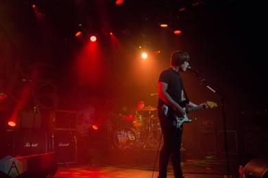 Jake Bugg performing at the Commodore Ballroom in Vancouver on September 7, 2016. (Photo: Emily Chin/Aesthetic Magazine)