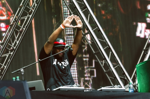 Jay Electronica performing at the Made In America Festival at the Benjamin Franklin Parkway in Philadelphia, Pennsylvania on September 3, 2016. (Photo: Saidy Lopez/Aesthetic Magazine)