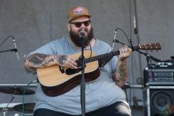 John Moreland performing at the Toronto Urban Roots Festival in Toronto on September 16, 2016. (Photo: Morgan Hotston/Aesthetic Magazine)