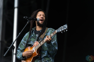 Julian Marley performing at Riot Fest Chicago on September 16, 2016. (Photo: Katie Kuropas/Aesthetic Magazine)