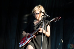 The Julie Ruin performing at Riot Fest Chicago on September 18, 2016. (Photo: Katie Kuropas/Aesthetic Magazine)