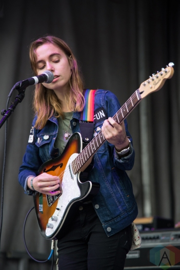 Julien Baker performing at the Toronto Urban Roots Festival in Toronto on September 17, 2016. (Photo: Morgan Hotston/Aesthetic Magazine)