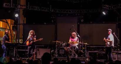 Kongos perform at the Life Is Beautiful Music Festival in Las Vegas on September 23, 2016. (Photo: Meghan Lee/Aesthetic Magazine)