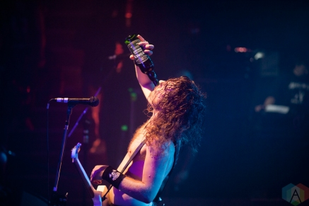Airbourne performs at Sugar Nightclub in Victoria, British Columbia on September 20, 2016. (Photo: Leanne Green/Aesthetic Magazine)
