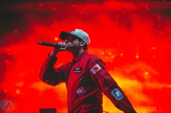 Logic performing at the Bumbershoot Music Festival in Seattle on September 4, 2016. (Photo: Daniel Hager/Aesthetic Magazine)