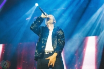 Macklemore performing at the Bumbershoot Music Festival in Seattle on September 3, 2016. (Photo: Daniel Hager/Aesthetic Magazine)