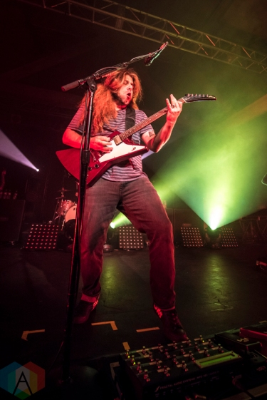 Coheed And Cambria performing at the Showbox SoDo in Seattle on September 13, 2016. (Photo: Matthew Thompson/Aesthetic Magazine)