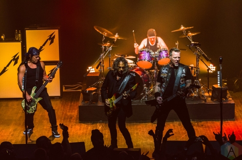 Metallica performs at Webster Hall in New York City on September 27, 2016. (Photo: Saidy Lopez/Aesthetic Magazine)