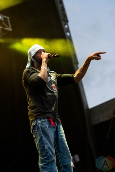 Method Man and Redman performing at Riot Fest Chicago on September 17, 2016. (Photo: Katie Kuropas/Aesthetic Magazine)