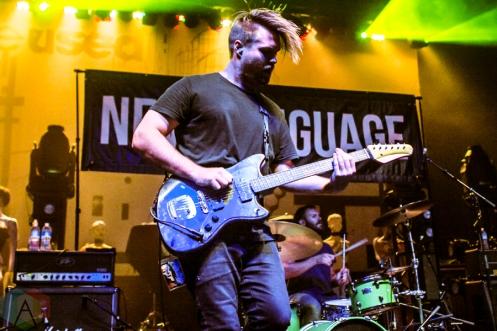 New Language performing at the Danforth Music Hall in Toronto on September 9, 2016. (Photo: Alyssa Balistreri/Aesthetic Magazine)