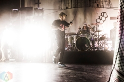 The Used performing at the Danforth Music Hall in Toronto on September 9, 2016. (Photo: Alyssa Balistreri/Aesthetic Magazine)