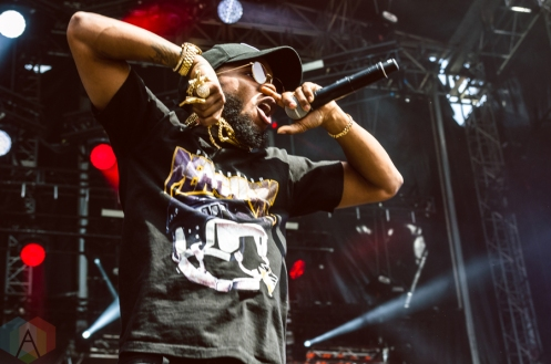 Tory Lanez performing at the Made In America Festival at the Benjamin Franklin Parkway in Philadelphia, Pennsylvania on September 4, 2016. (Photo: Saidy Lopez/Aesthetic Magazine)