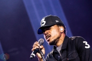 Chance The Rapper performing at the Made In America Festival at the Benjamin Franklin Parkway in Philadelphia, Pennsylvania on September 4, 2016. (Photo: Saidy Lopez/Aesthetic Magazine)