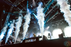 Martin Garrix performing at the Made In America Festival at the Benjamin Franklin Parkway in Philadelphia, Pennsylvania on September 4, 2016. (Photo: Saidy Lopez/Aesthetic Magazine)