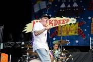 Neck Deep performing at Riot Fest Chicago on September 16, 2016. (Photo: Katie Kuropas/Aesthetic Magazine)