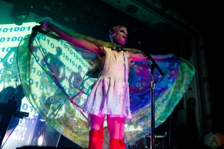 Of Montreal performs at Metro Chicago in Chicago on September 19, 2016. (Photo: Katie Kuropas/Aesthetic Magazine)
