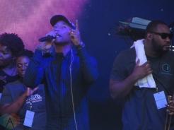 Pharrell Williams performing on Festival Street in Toronto on September 10, 2016 during TIFF 2016. (Photo: Katrina Lat/Aesthetic Magazine)