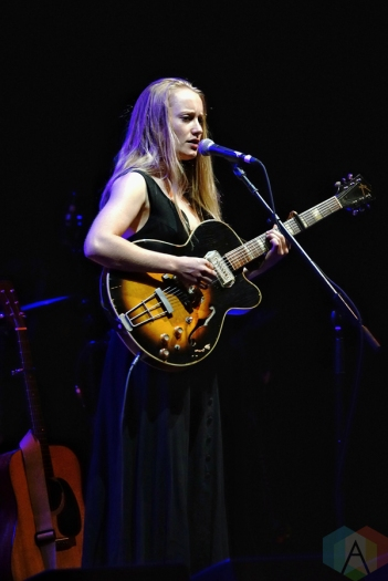 The Weather Station performing at Massey Hall in Toronto on September 10, 2016. (Photo: Dan Fischer/Aesthetic Magazine)